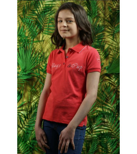 Flags&Cup Polo Enfant Heredia